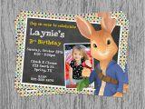 Peter Rabbit Nick Jr Birthday Invitations Nick Jr S Peter Rabbit Birthday Invitation Digital File