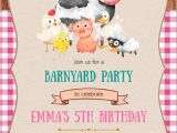 Petting Zoo Birthday Invitation Template Petting Zoo Birthday Party Invitation Template Postermywall