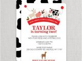Petting Zoo themed Birthday Party Invitations Farm Birthday Invitation for A Girl or Boy Farm by
