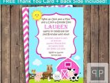 Petting Zoo themed Birthday Party Invitations Instant Download Farm Animals Birthday Invitation Petting