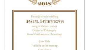 Phd Graduation Party Invitation Wording Doctoral Graduation Invitations