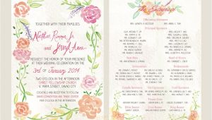 Philippine Wedding Invitation A Watercolor Invitation for A Davao Wedding Stars for Dreams