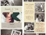 Photo Collage Wedding Invitations 1000 Images About Save the Date Ideas On Pinterest
