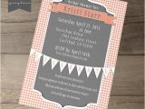 Picnic Bridal Shower Invitations Bridal Shower Printable Invites and Recipe Cards On Behance