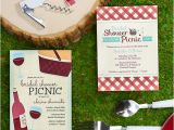 Picnic Bridal Shower Invitations Picnic theme Wine Bridal Showers – Wine Country Occasions