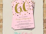 Picture Invitations for Birthday 60th Birthday Party Invitations Party Invitations Templates