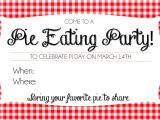 Pie Party Invitations How to Host A Pie Day Party Printable Invites so Festive