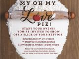 Pie Party Invitations Pie Judging Party Everyday Party Magazine