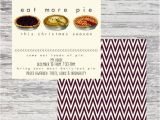 Pie Party Invitations Pie Party Invitation Printable by Ohollie On Etsy 18 00