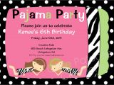 Pijama Party Invitation Chandeliers Pendant Lights