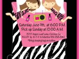 Pijama Party Invitation Pajama Party Birthday Invitations Sleepover Invitations