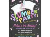 Pijama Party Invitation Slumber Party Pajamas Sleepover Invitation Zazzle Com