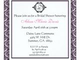 Pink and Black Bridal Shower Invitations Pink and Black Bridal Shower Damask Invitation