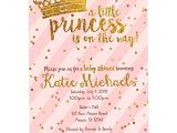 Pink and Gold Baby Shower Invitations Free Pink and Gold Baby Shower Invitations Princeglitter