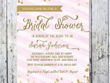 Pink and Gold Bridal Shower Invitations Etsy Items Similar to Blush Pink Gold Bridal Shower Invitation
