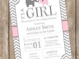 Pink and Grey Baby Shower Invites Chandeliers & Pendant Lights