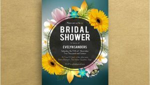 Pink and Yellow Bridal Shower Invitations Bridal Shower Invitations Sunflower Bridal Shower