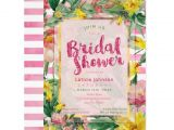 Pink and Yellow Bridal Shower Invitations Bridal Shower