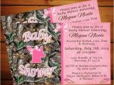 Pink Camo Baby Shower Invites 30 Baby Shower Invitations Printable Psd Ai Vector