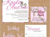 Pink Camouflage Wedding Invitations Pink Camo Wedding Invitation Camouflage Wedding Suite Pink
