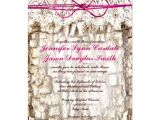 Pink Camouflage Wedding Invitations Rustic Country Camo Pink Bow Wedding Invitations 4 5 Quot X 6