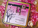 Pink Power Ranger Birthday Invitations Mystic force Pink Power Ranger Party Hostess with the