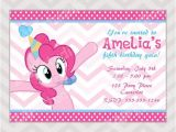 Pinkie Pie Birthday Invitations 25 Best Ideas About My Little Pony Invitations On