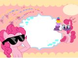 Pinkie Pie Birthday Invitations Pinky Pie Birthday Invitation Card Template
