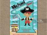 Pirate 1st Birthday Invitations 1000 Ideas About Pirate Birthday Invitations On Pinterest