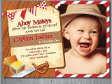 Pirate 1st Birthday Invitations Items Similar to Pirate Birthday Invitation First