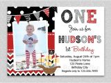 Pirate 1st Birthday Invitations Pirate Birthday Invitation Boys Pirate Birthday Invitation