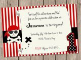 Pirate 1st Birthday Invitations Pirate Birthday Invitation Pirate Birthday Ahoy Matey