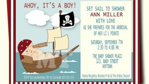 Pirate themed Baby Shower Invitations Pirate Baby Shower Invitation Pirate Baby Boy Shower