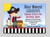 Pirate themed Birthday Party Invitations Pirate Birthday Invitation Pirate Party Birthday Invitation
