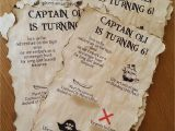 Pirate themed Birthday Party Invitations Pirate Party Invitations Me the Man & the Kids