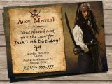 Pirates Of the Caribbean Birthday Party Invitations New to Printznthings On Etsy Pirates Of the Caribbean