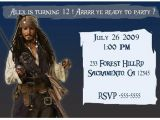 Pirates Of the Caribbean Birthday Party Invitations Party Supplies the Kid 39 S Fun Review