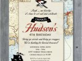 Pirates Of the Caribbean Birthday Party Invitations Pirate Invitation for Birthday Party Vintage Pirates Of