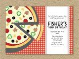 Pizza Making Party Invitation Template Pizza Party Invitations