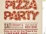 Pizza Party Invitation Template 9 Best Of Free Printable Pizza Party Flyers Free