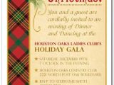Plaid Christmas Party Invitations Holly On Plaid Holiday Party Invitations Christmas Invitation