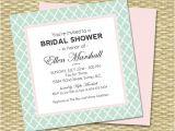 Plain Bridal Shower Invitations Bridal Shower Invitation Baby Shower Birthday Simple