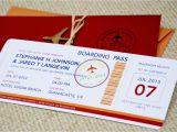 Plane Ticket Wedding Invitation Template Free Boarding Pass Wedding Invitation Template Wedding and
