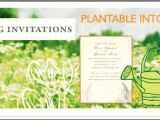 Plantable Wedding Invitations Cheap Plantable Wedding Invitations Seeded Paper Invitations
