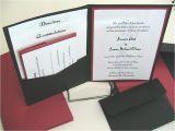 Pocket Invitation Kits for Wedding Printable Pocket Wedding Invitation Kits Pocket Wedding