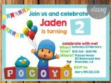 Pocoyo Birthday Party Invitations Instant Download Pocoyo Invitation Bonus Thank You by