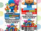 Pocoyo Birthday Party Invitations Items Similar to Pocoyo Birthday Party Invitation Ticket