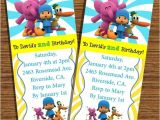 Pocoyo Birthday Party Invitations Items Similar to Pocoyo Printable Birthday Invitations On Etsy