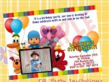 Pocoyo Birthday Party Invitations Pocoyo Birthday Invitation Printable by Meprintanddesing