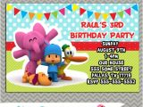 Pocoyo Birthday Party Invitations Pocoyo Birthday Invitations A Printable or Prints